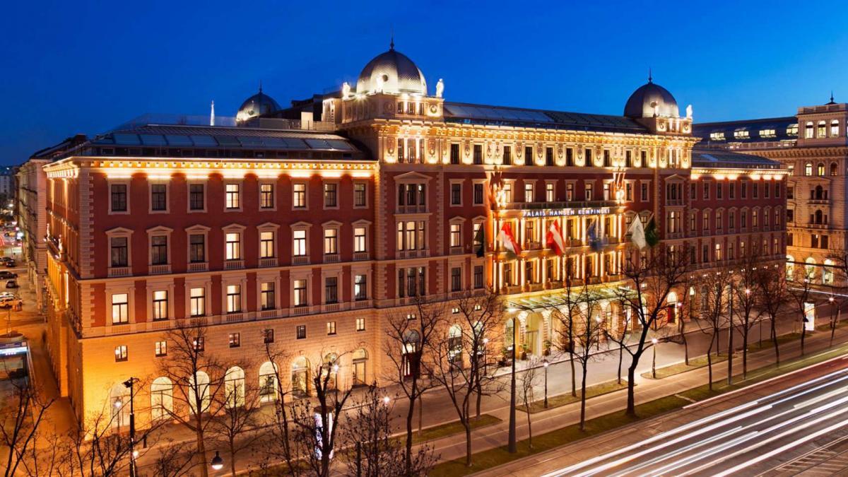Kempinski Palais Hansen Wien outside view