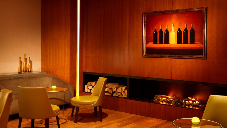 Park Hyatt Hamburg smokers lounge