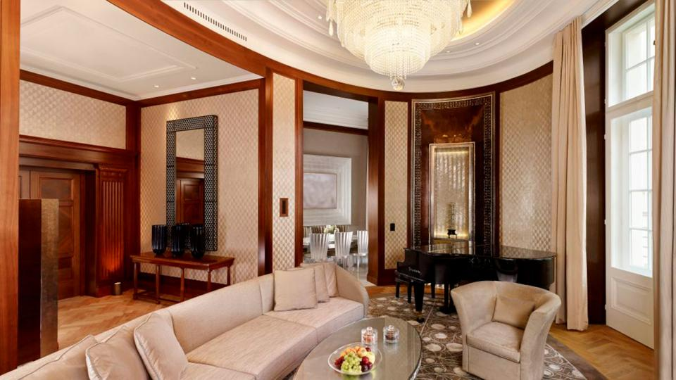 Park Hyatt Wien presidential suite living room