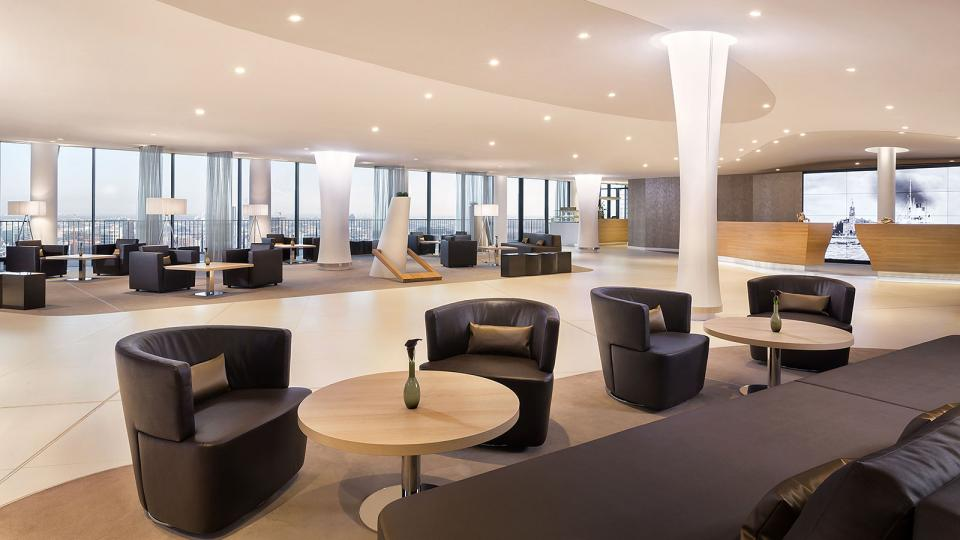 The Westin Hamburg lobby and lounge area
