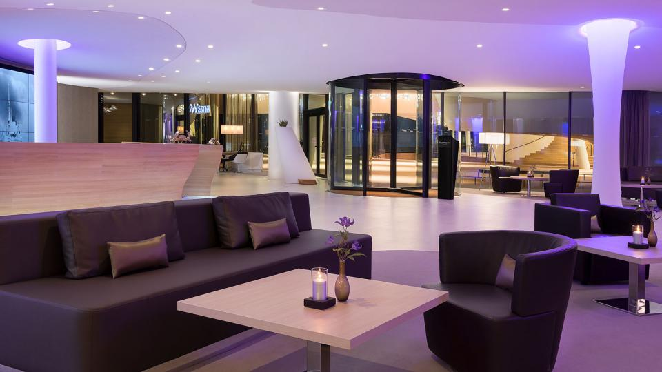 The Westin Hamburg lounge area