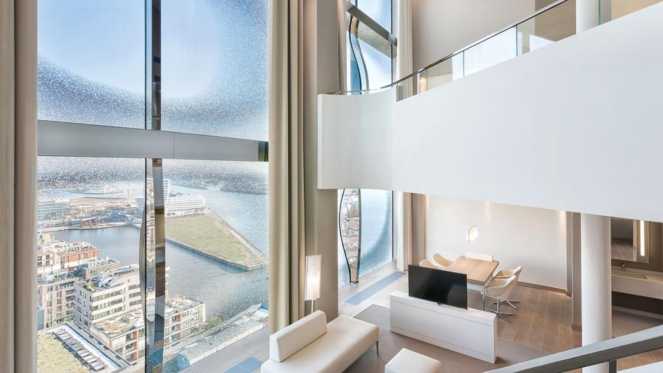 The Westin Hamburg maisonette suite