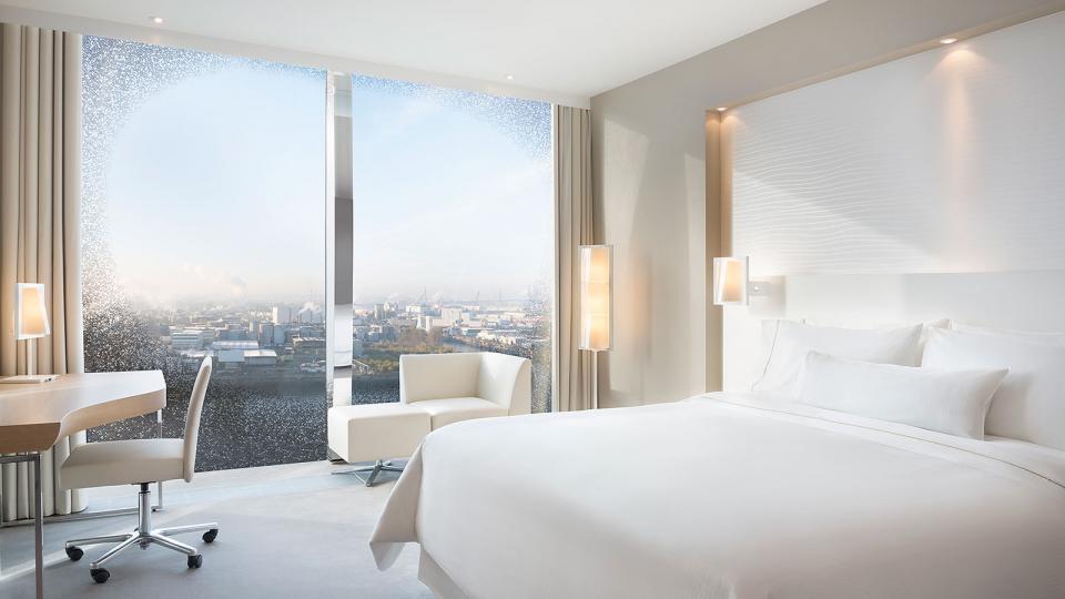 The Westin Hamburg panorama premium waterkant room