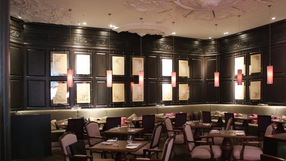 Ritz Carlton Moskau bar
