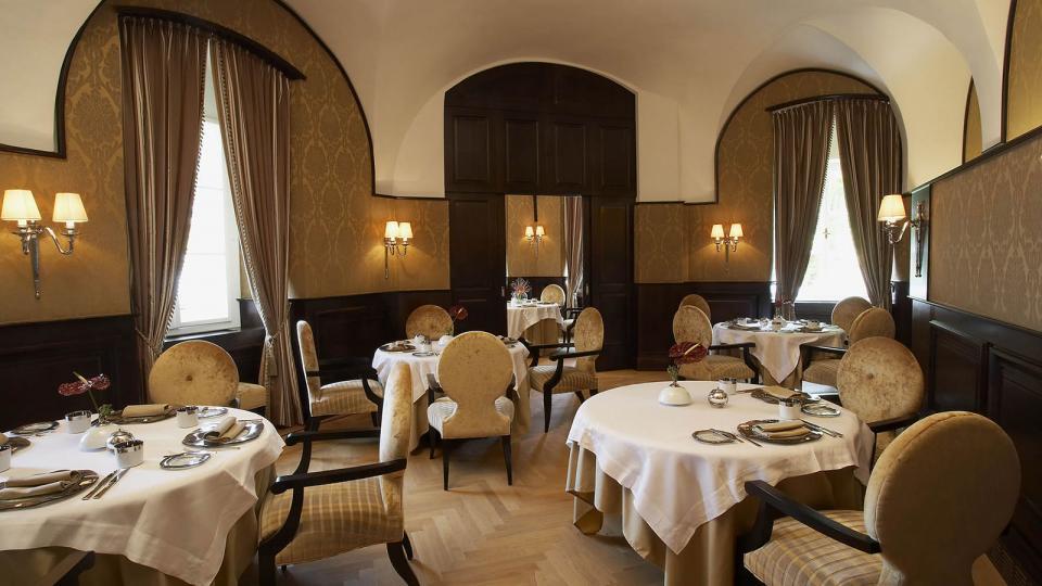 Schlosshotel Velden restaurant schlossstern