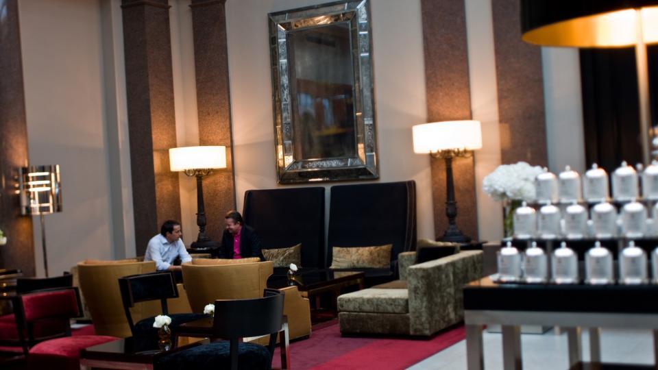 Rocco Forte Du Rome Berlin lobby